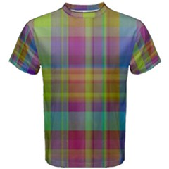 Plaid, Cool Men s Cotton Tees