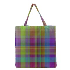 Plaid, Cool Grocery Tote Bags