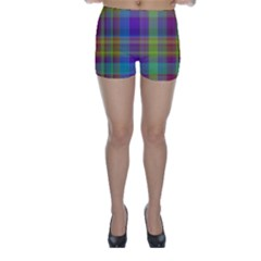 Plaid, Cool Skinny Shorts