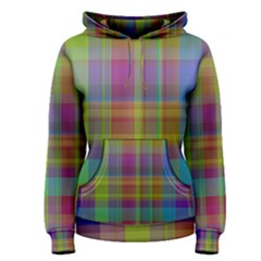 Plaid, Cool Women s Pullover Hoodies