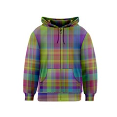 Plaid, Cool Kids Zipper Hoodies