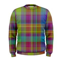 Plaid, Cool Men s Sweatshirts