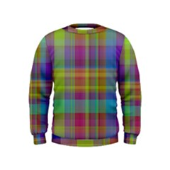 Plaid, Cool Boys  Sweatshirts