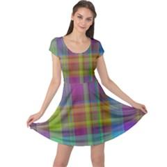 Plaid, Cool Cap Sleeve Dresses