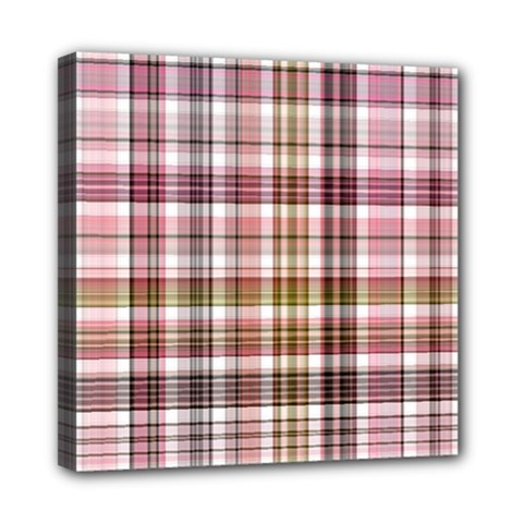 Plaid, Candy Mini Canvas 8  X 8