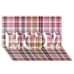Plaid, Candy Mom 3d Greeting Card (8x4)