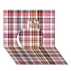 Plaid, Candy Apple 3d Greeting Card (7x5)