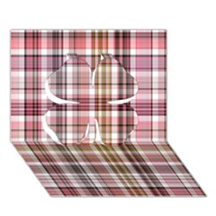 Plaid, Candy Clover 3D Greeting Card (7x5)