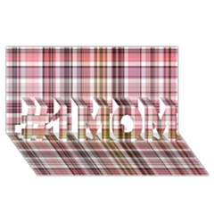 Plaid, Candy #1 Mom 3d Greeting Cards (8x4)