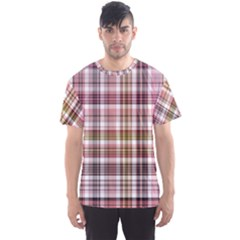 Plaid, Candy Men s Sport Mesh Tees