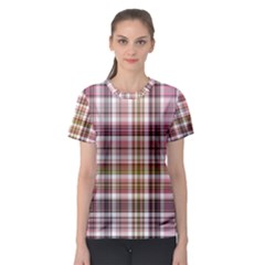 Plaid, Candy Women s Sport Mesh Tees