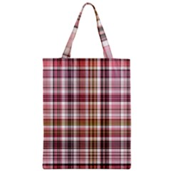 Plaid, Candy Classic Tote Bags