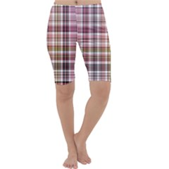 Plaid, Candy Cropped Leggings