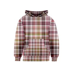 Plaid, Candy Kid s Pullover Hoodies