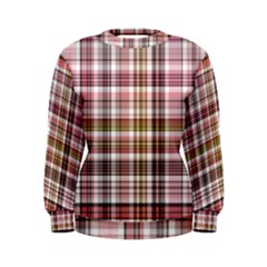 Plaid, Candy Women s Sweatshirts