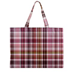 Plaid, Candy Zipper Tiny Tote Bags