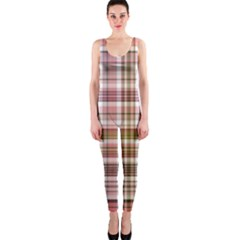 Plaid, Candy OnePiece Catsuits