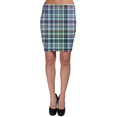 Plaid Ocean Bodycon Skirts