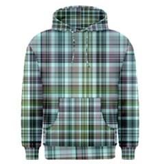 Plaid Ocean Men s Pullover Hoodies