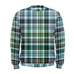 Plaid Ocean Men s Sweatshirts