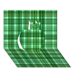 Plaid Forest Apple 3D Greeting Card (7x5)