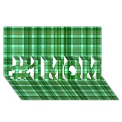Plaid Forest #1 MOM 3D Greeting Cards (8x4)