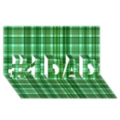 Plaid Forest #1 Dad 3d Greeting Card (8x4)