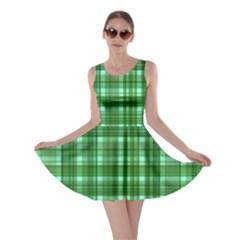 Plaid Forest Skater Dresses