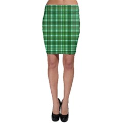 Plaid Forest Bodycon Skirts