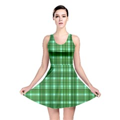 Plaid Forest Reversible Skater Dresses