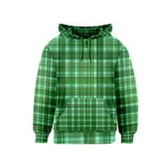 Plaid Forest Kids Zipper Hoodies