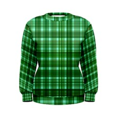 Plaid Forest Women s Sweatshirts