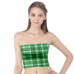Plaid Forest Women s Tube Tops