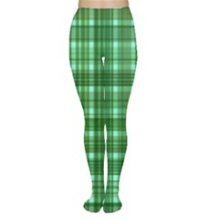 Plaid Forest Women s Tights