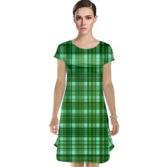 Plaid Forest Cap Sleeve Nightdresses