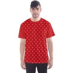 Cute Seamless Tile Pattern Gifts Men s Sport Mesh Tees