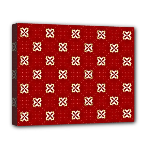 Cute Seamless Tile Pattern Gifts Deluxe Canvas 20  X 16
