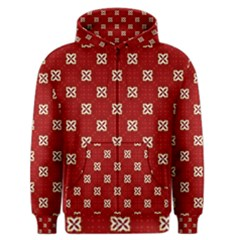 Cute Seamless Tile Pattern Gifts Men s Zipper Hoodies