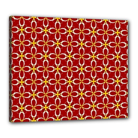 Cute Seamless Tile Pattern Gifts Canvas 24  X 20