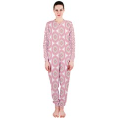 Cute Seamless Tile Pattern Gifts OnePiece Jumpsuit (Ladies)