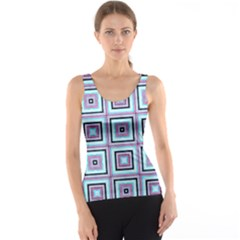 Cute Seamless Tile Pattern Gifts Tank Tops
