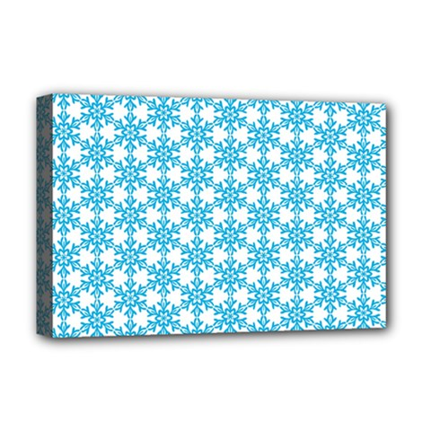 Cute Seamless Tile Pattern Gifts Deluxe Canvas 18  X 12