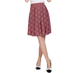 Cute Seamless Tile Pattern Gifts A-Line Skirts