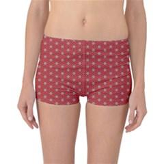 Cute Seamless Tile Pattern Gifts Reversible Boyleg Bikini Bottoms