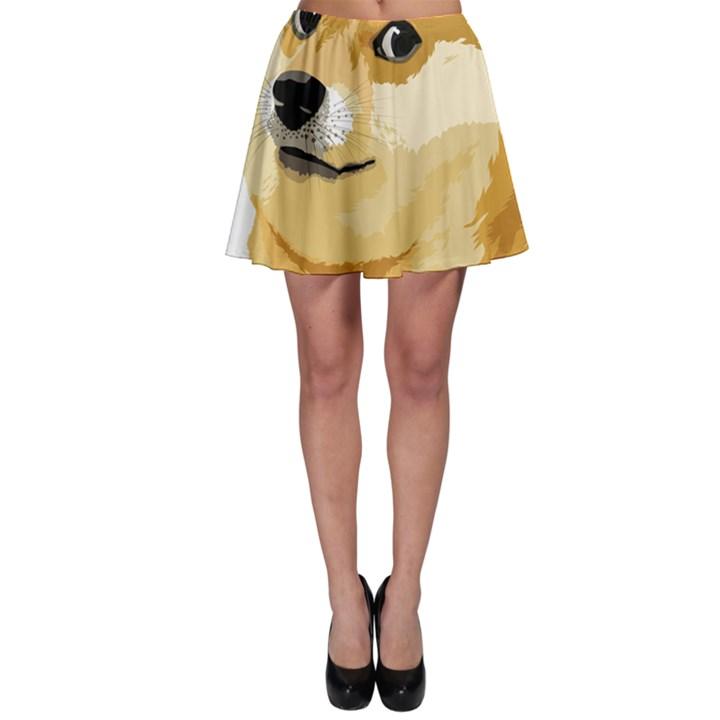 Dogecoin Skater Skirts