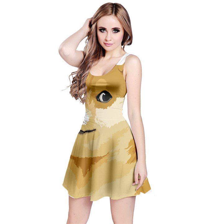 Dogecoin Reversible Sleeveless Dresses