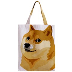 Dogecoin Classic Tote Bags