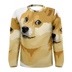 Dogecoin Men s Long Sleeve T-shirts