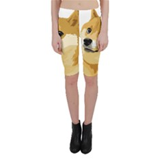 Dogecoin Cropped Leggings