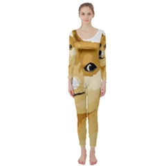 Dogecoin Long Sleeve Catsuit